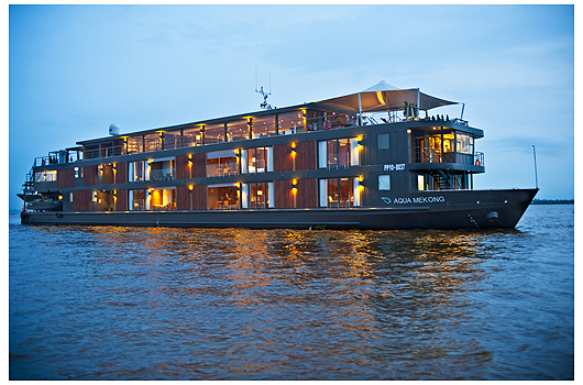 Aqua Mekong Exterior View - High Resolution