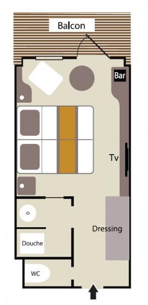 Plan Deluxe stateroomn