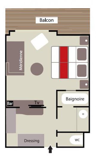 Plan deluxe suite