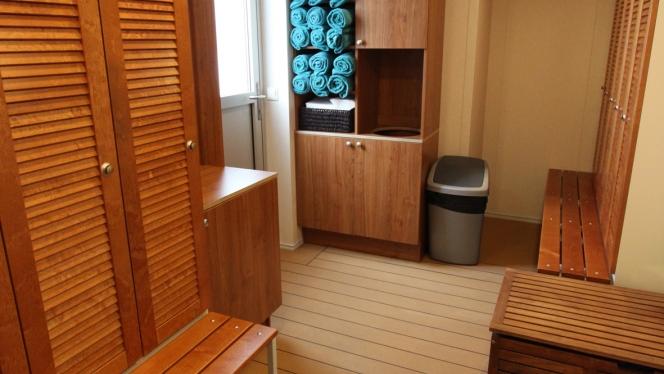 ocean endeavour sauna
